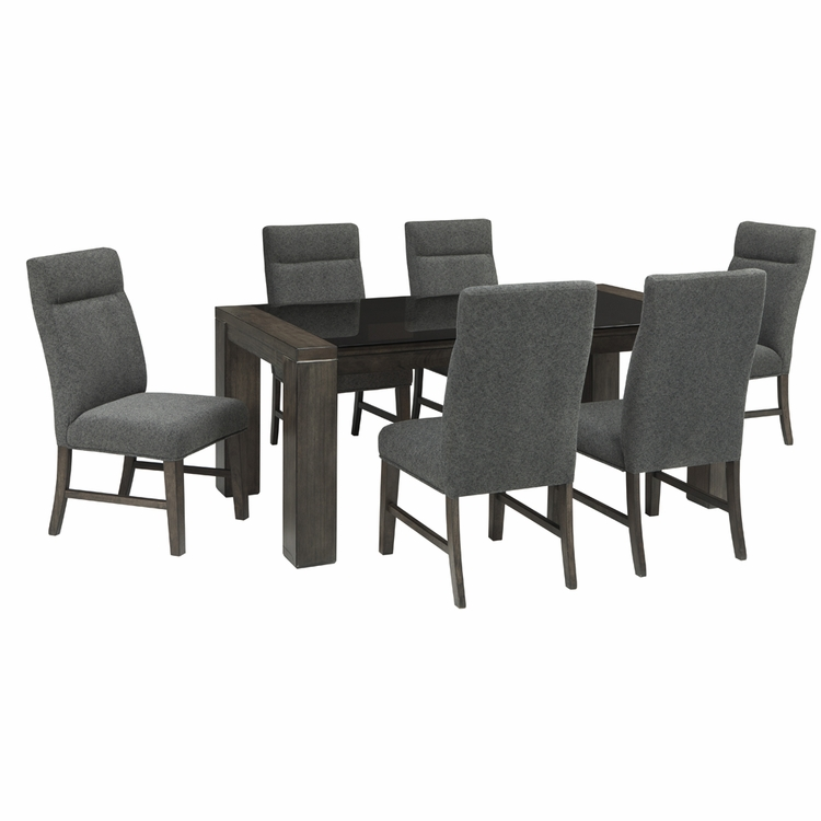 Signature Design by Ashley - Chansey 7-Piece Dining Room Set