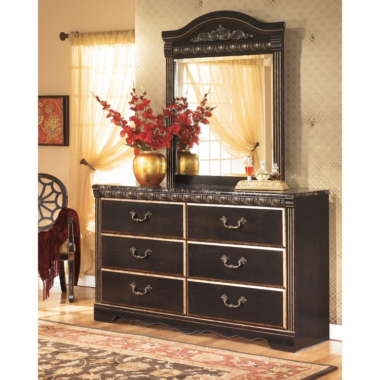 Signature Design by Ashley - Coal Creek Bedroom Dresser and Mirror - B175-31_36