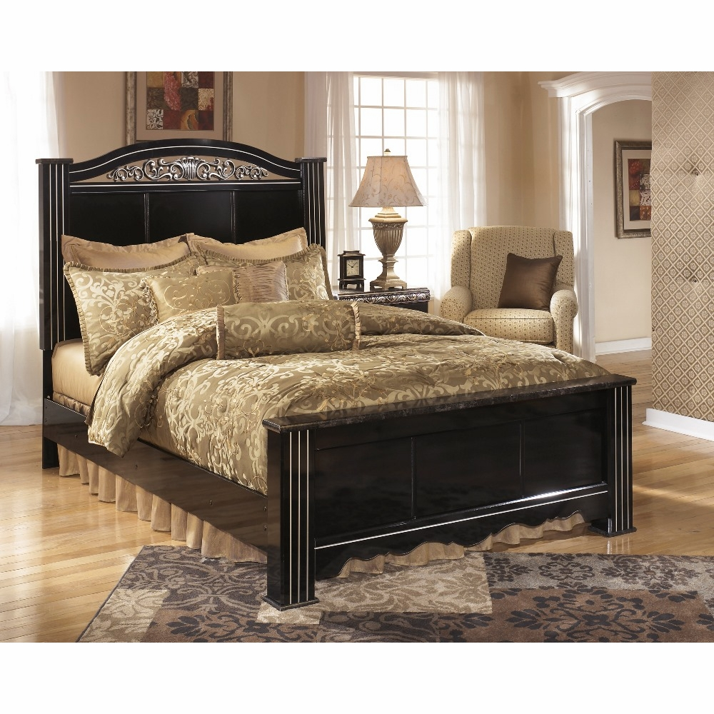 Signature Design By Ashley Constellations King Panel Bed