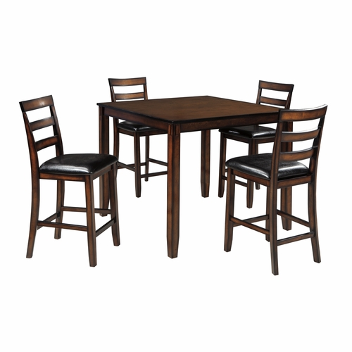 Signature Design by Ashley - Coviar DRM Counter Table Set (5/CN) - D385-223