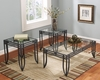 Signature Design by Ashley - Exeter Occastional Table Set - T113-13 - Quickship