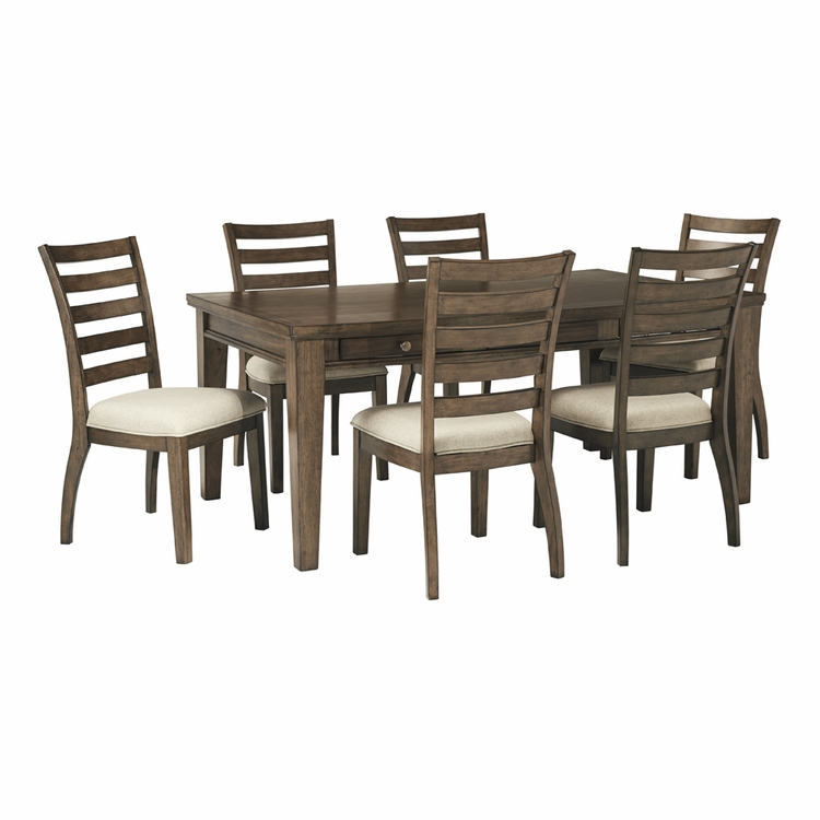 Signature Design by Ashley - Flynnter 7-Piece Dining Room Set