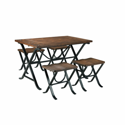 Signature Design by Ashley - Freimore 5-Piece Rectangular Dining Room Table Set - D311-225 - Quickship