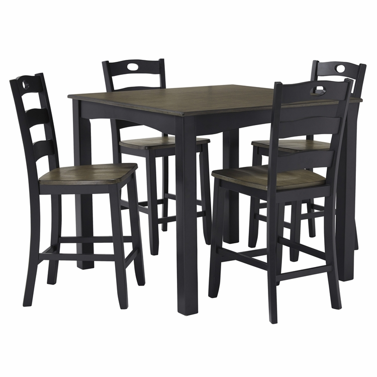 Signature Design by Ashley - Froshburg Square Counter Table Set (5/CN) - D338-223