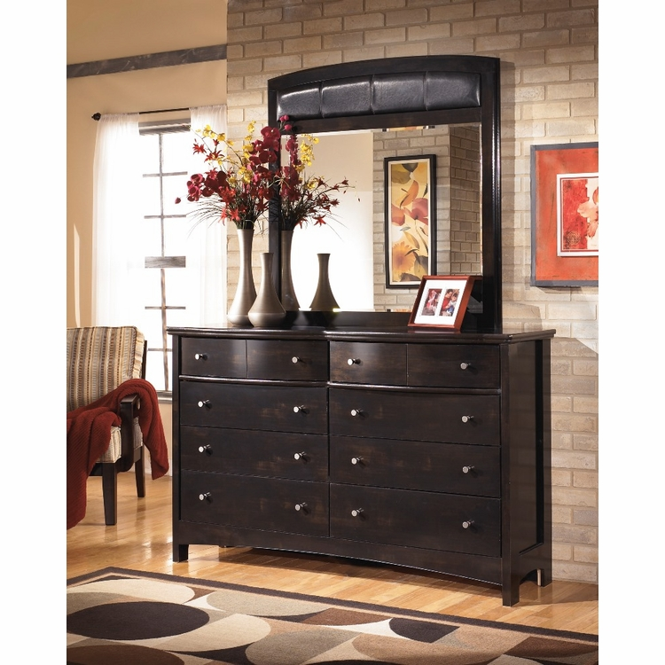 Signature Design by Ashley - Harmony Bedroom Dresser and Mirror - B208-31_36
