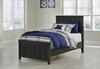 Signature Design by Ashley - Jaysom Twin Panel Bed with Under Bed Storage