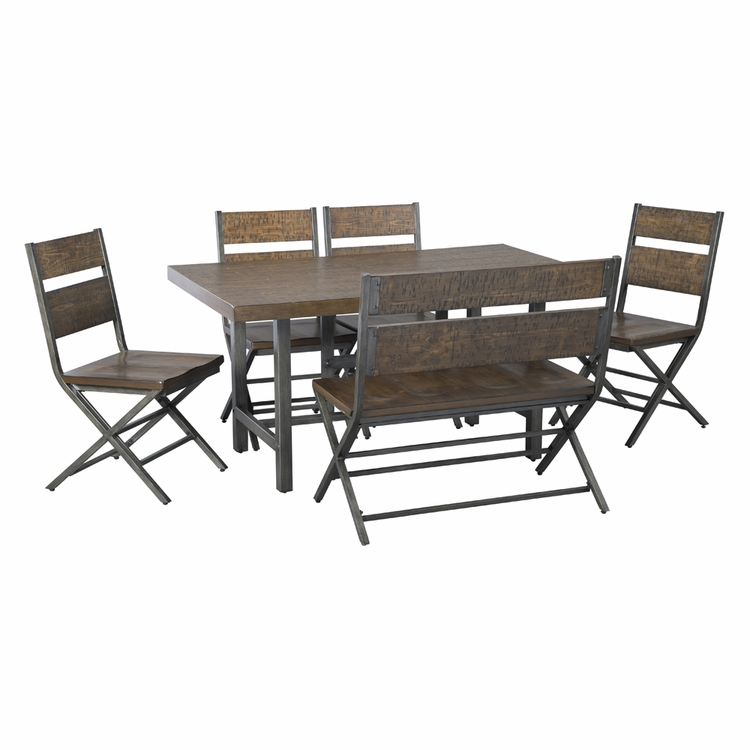 Signature Design by Ashley - Kavara 6-Piece Dining Room Set