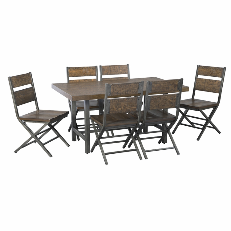 Signature Design by Ashley - Kavara 7-Piece Dining Room Set