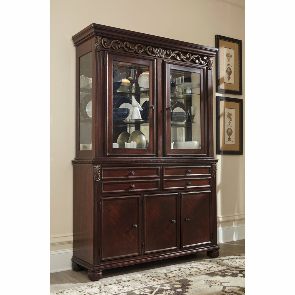 Signature Design by Ashley - Leahlyn Dining Room Buffet and Hutch