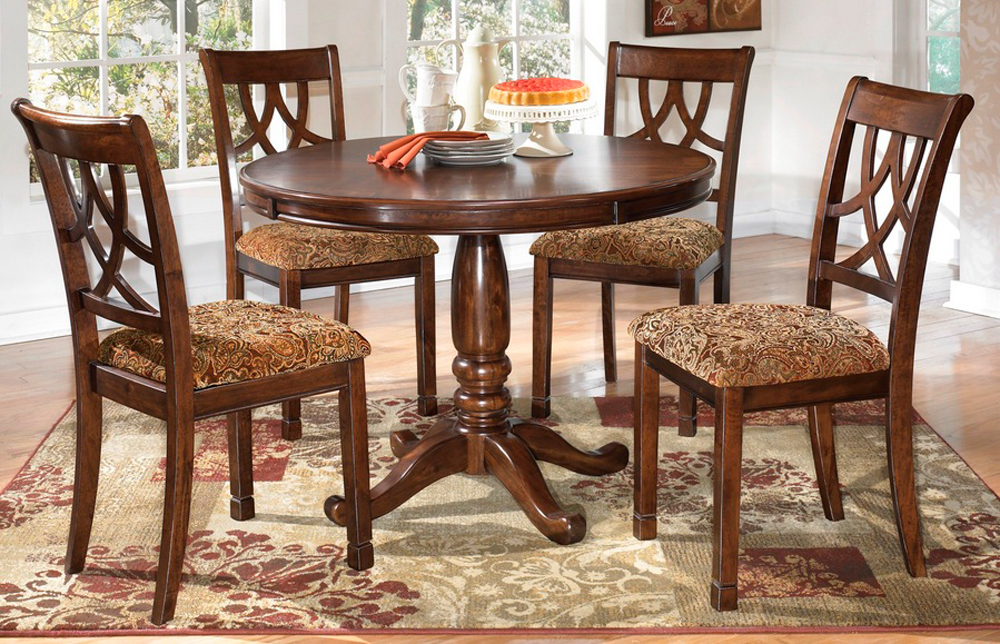 Signature Design By Ashley Leahlyn Round Dining Table