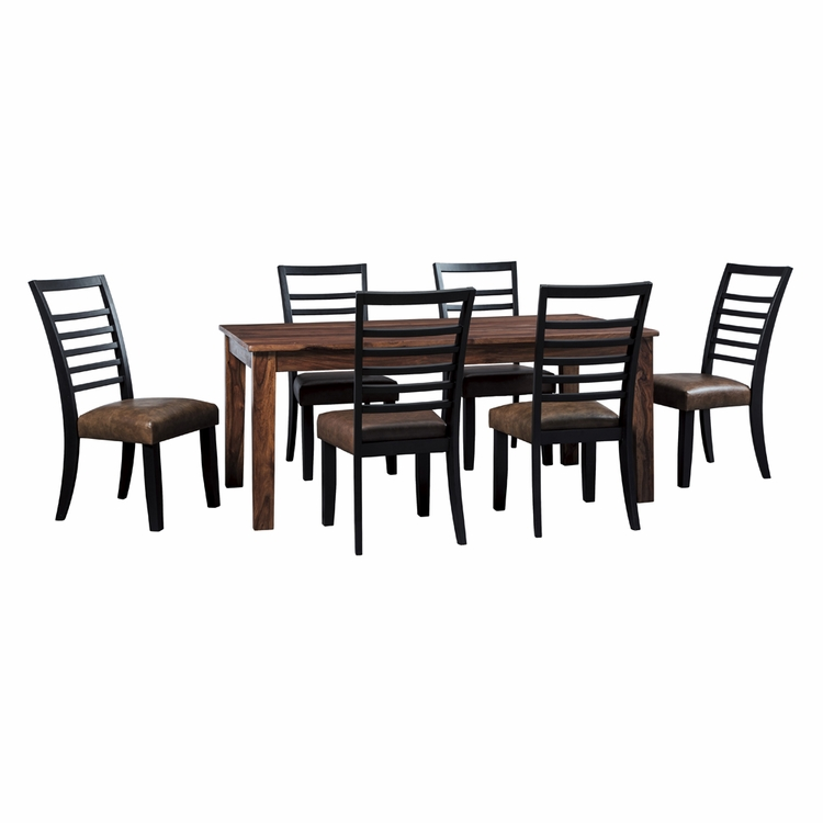 Signature Design by Ashley - Manishore 7-Piece Dining Room Set