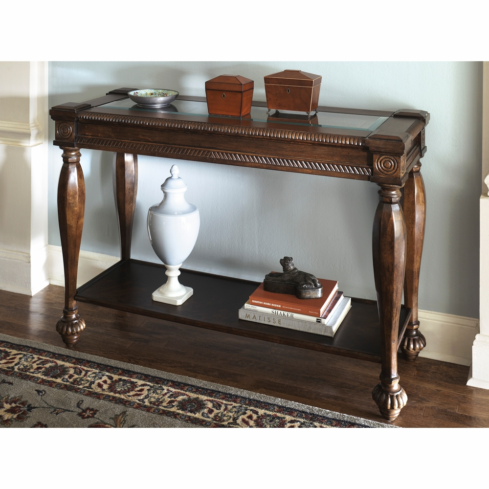 Cool Signature Design By Ashley Mantera Sofa Table T616 4 Quickship Download Free Architecture Designs Scobabritishbridgeorg