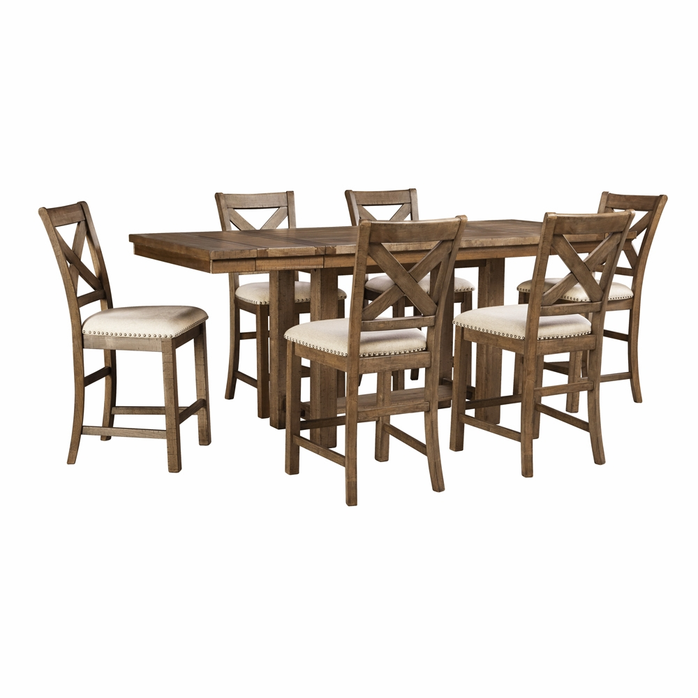 Signature Design by Ashley - Moriville 7-Piece Dining Room Set