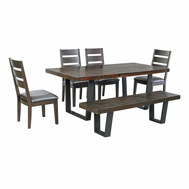 Signature Design by Ashley - Parlone 6-Piece Dining Room Set