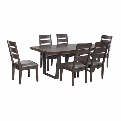Signature Design by Ashley - Parlone 7-Piece Dining Room Set
