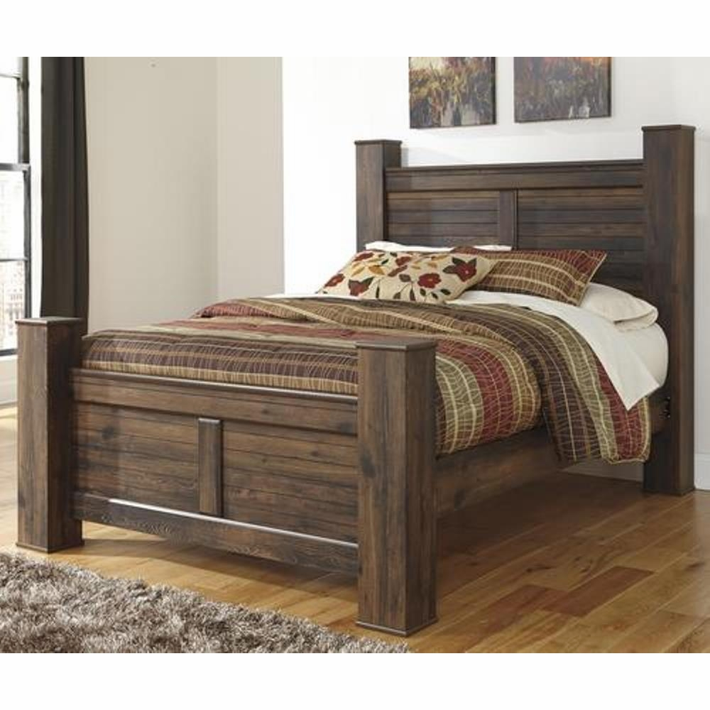 Signature Design By Ashley Quiden King Poster Bed