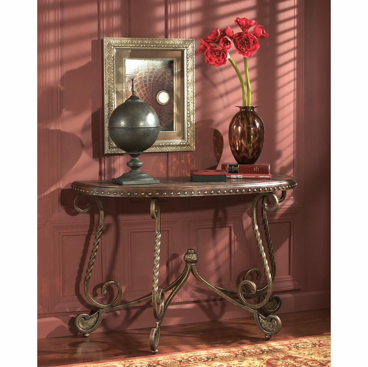 Signature Design by Ashley - Raferty Sofa Table - T382-4 ...