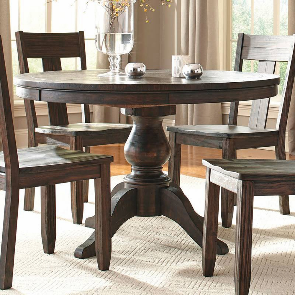 Signature Design by Ashley   Trudell Round Dining Room Ext ...