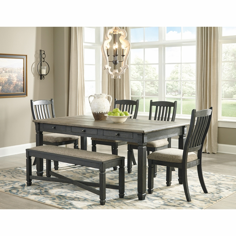 Signature Design by Ashley - Tyler Creek 6-Piece Dining Room Set