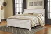 Signature Design by Ashley - Willowton King Panel Bed