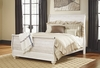 Signature Design by Ashley - Willowton King Sleigh Bed
