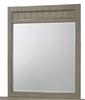 Simmons - Ashland Grey Mirror  - 3016-20
