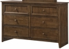 Simmons - Ashland Oak Dresser  - 3015-10