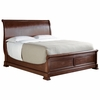 Stanley Furniture - The Classic Portfolio Louis Philippe Sleigh Queen Bed in Orleans Finish - 058-13-52