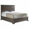 Stanley Furniture - The Classic Portfolio Transitional Panel California King Bed in Polished Sable Finish - 042-13-48
