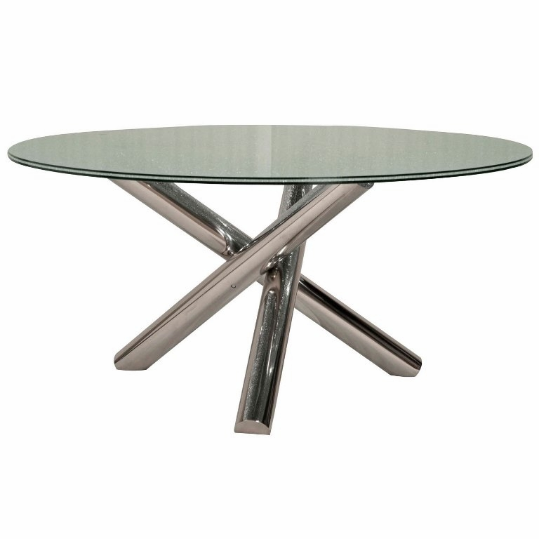Groovy Star International Furniture Gotham 60 Round Dining Table E Cragl Lrd E 2451Rts Stl Gmtry Best Dining Table And Chair Ideas Images Gmtryco