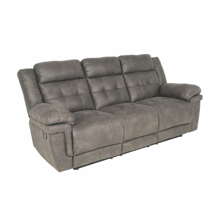 Steve Silver Anastasia Recliner Sofa In Gray At850s