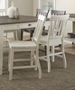 Steve Silver - Cayla Counter Chair in White (Set of 2) - CY700CCW