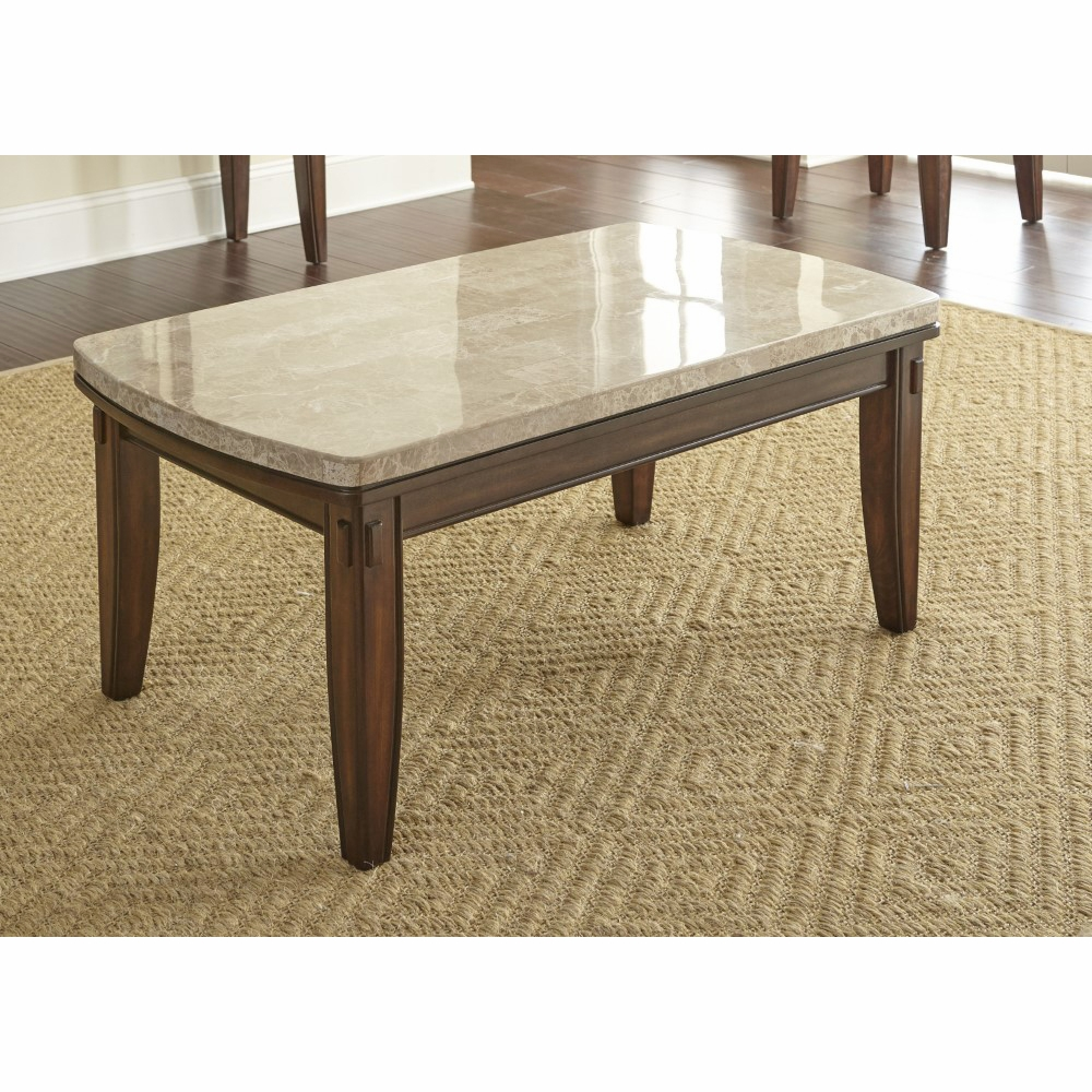 Steve Silver Eileen Marble Top Cocktail Table Ee700c