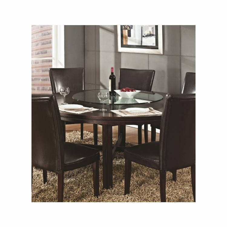 Steve Silver - Hartford Round Dining Table 72\