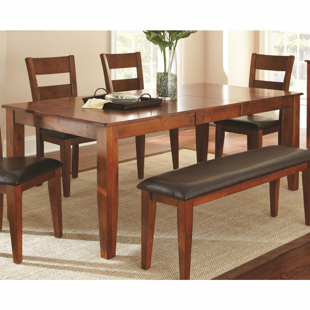 Steve Silver Mango Dining Table With 18 Erfly Leaf Go400tk
