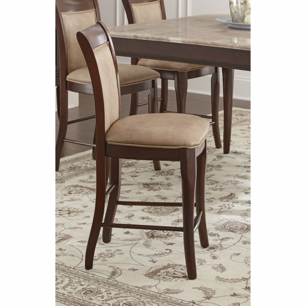 Cool Steve Silver Marseille Counter Chair Set Of 2 Ms900Cc Squirreltailoven Fun Painted Chair Ideas Images Squirreltailovenorg