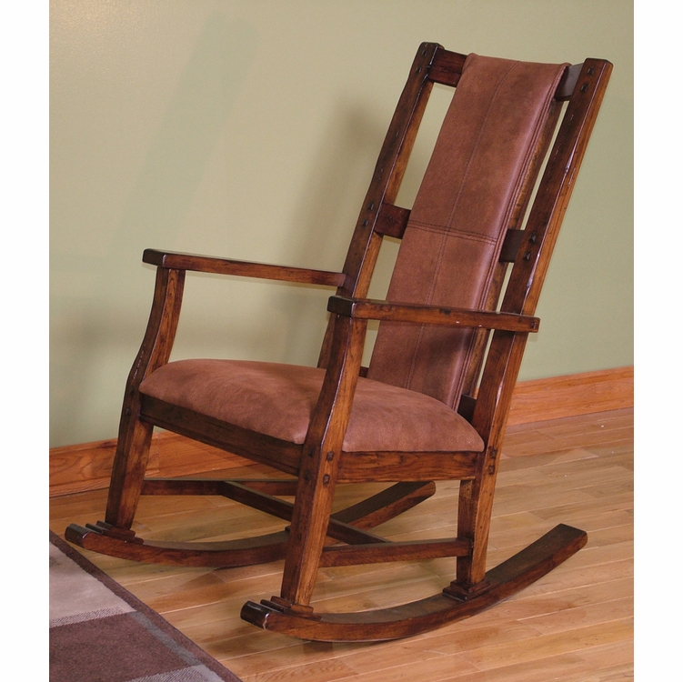 Sunny Designs - Rocker w/ Cushion Seat & Back - 1935DC