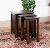 Sunny Designs - Santa Fe 3 pc Nesting Table - 2123DC-2