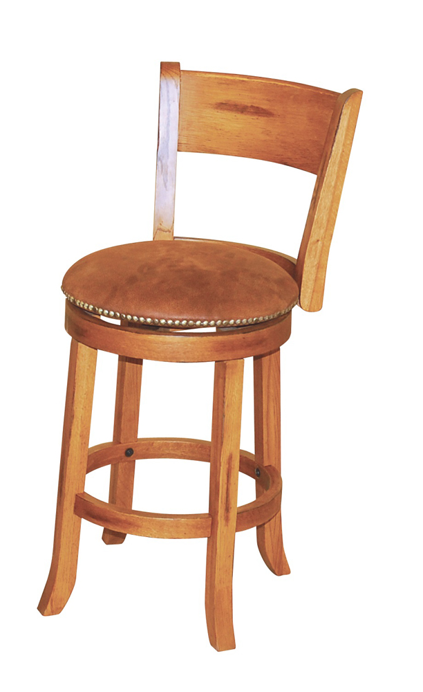 Sunny Designs Sedona Swivel Barstool W Back 30h 1883ro