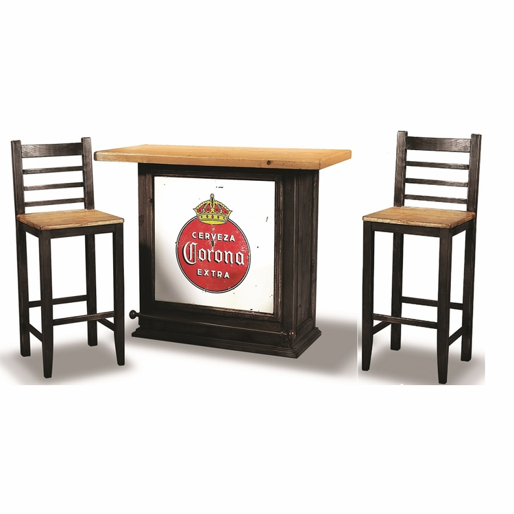 Sunset Trading - 3 Piece Party Bar Set with Storage - HH-8045-500-3PC