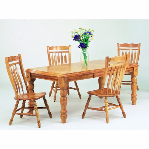 Sunset Trading - 5 Piece Extension Dining Set with Aspen Chairs - DLU-SLT4272-C10-LO5PC