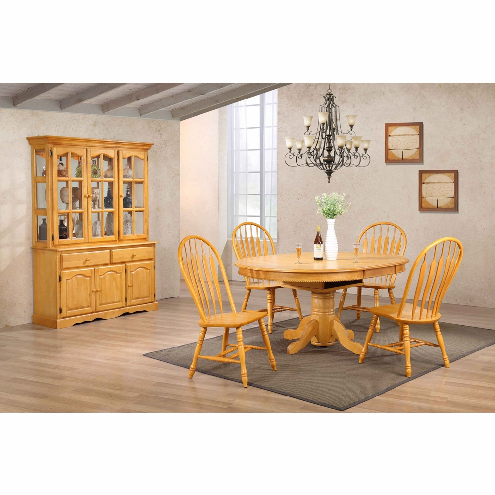 Wholesale Kitchen Cabinets Michigan: 7 Piece Pedestal Dining Table Set With