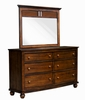 Sunset Trading - Bahama Shutter Wood Dresser And Mirror - CF-1130_34-0158