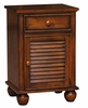 Sunset Trading - Bahama Shutter Wood Nightstand - CF-1137-0158