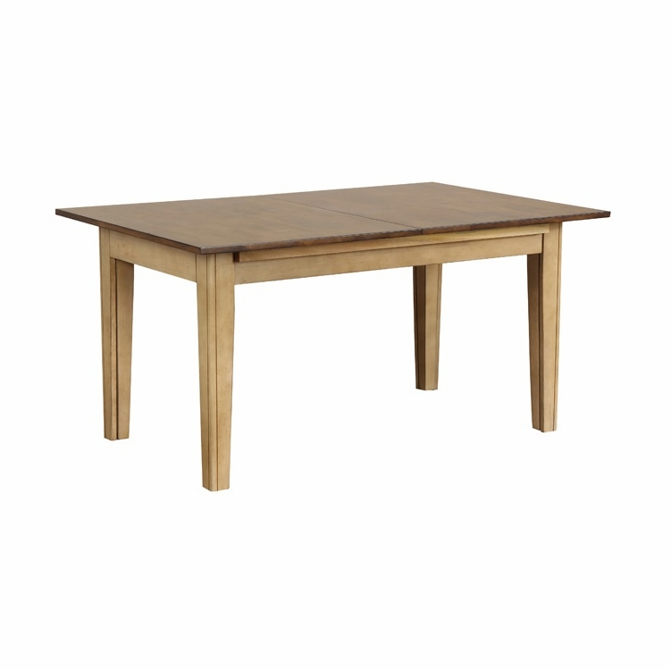 """Sunset Trading - Brook 134"""" Rectangular Extension Dining Table - DLU-BR134-PW"""