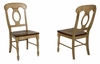 Sunset Trading - Brook Napoleon Dining Chair (Set of 2)  - DLU-BR-C50-PW-2