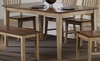 Sunset Trading - Brook Rectangular Dining Table - DLU-BR3660-PW