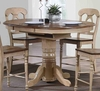 Sunset Trading - Brook Round or Oval Extension Pub Table  - DLU-BR4260CB-PW