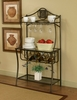Sunset Trading - Cappuccino Bakers Rack - CR-72454-85