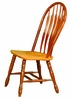 Sunset Trading - Comfort Back Dining Chair in Nutmeg Light Oak (Set of 2)  - DLU-4130-NLO-2